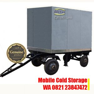Portable Moveable Cold Storage - Mobile Trailer Cold Storage